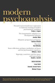cover art of CMPS's Modern Psychoanalysis