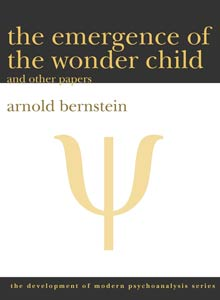 cover art of Arnold Berstein's The Emergence of the Wonder Child