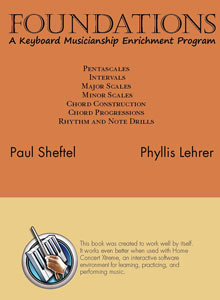 cover art of Paul Sheftel's and Phyllis Lehrer's Foundations: A Keyboard Musicianship Enrichment Program