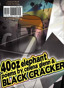 cover art of Celena Glenn and Black Cracker's 40oz Elephant