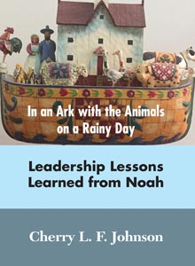 cover art of Cherry L. F. Johnson's In an Ark with Animals on a Rainy Day